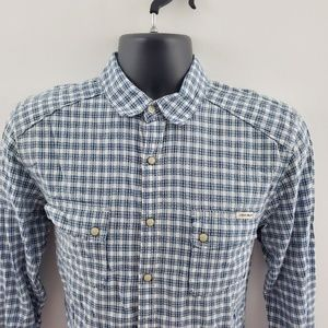 Lucky Brand Shirts - Lucky Brand pearl snap button down H72 S classic